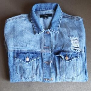 Forever 21 Men's Blue Jean Jacket